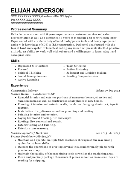 view resume - Tour Guide Resume
