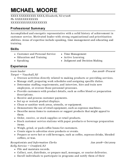 chick fil a team leader resume sample austin texas resumehelp