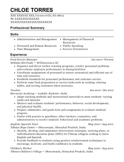 via rail canada service manager resume sample