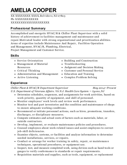 cities - Service Manager Resume