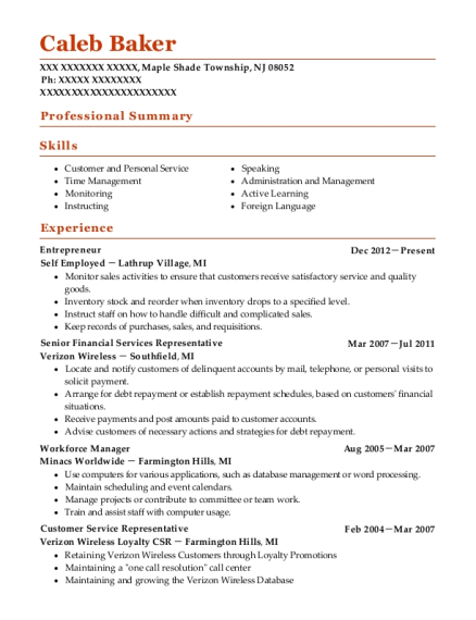 Best Workforce Manager Resumes | ResumeHelp