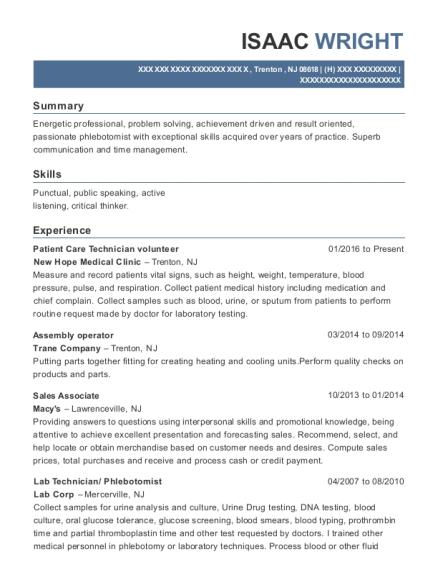 Best Sales Associate Resumes in Trenton New Jersey   ResumeHelp