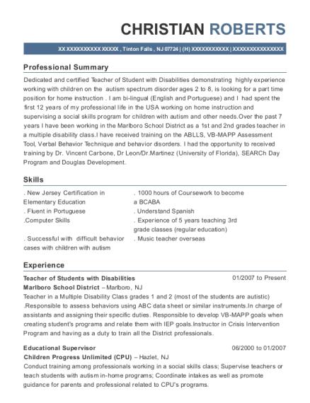 Academic Evaluator , Educational Supervisor. Customize Resume · View Resume