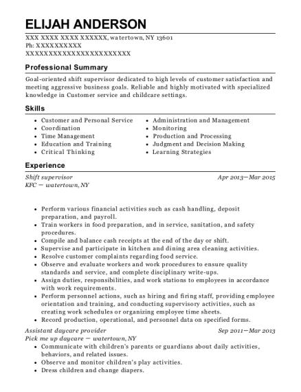 best assistant daycare provider resumes resumehelp
