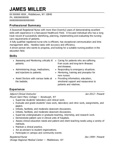 people also search for customize resume view resume adjunct clinical instructor - Clinical Instructor Resume