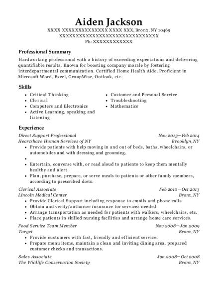 best clerical associate resumes resumehelp