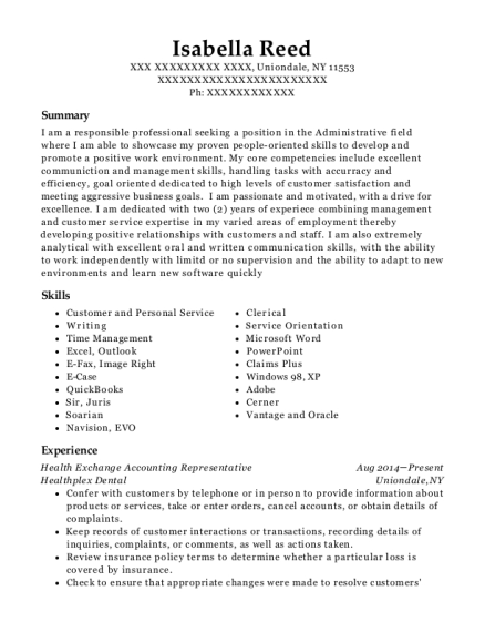 Stunning Reed Accounting Resume Photos - Best Resume Examples and ...