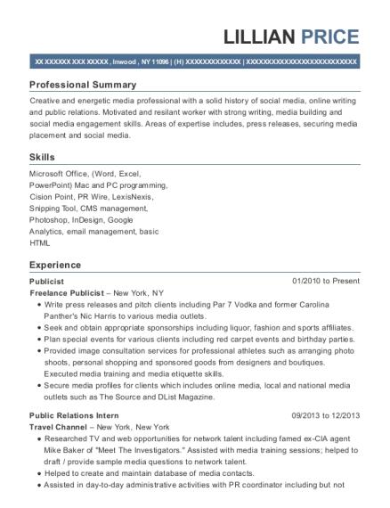 Best Online And Social Media Intern Resumes | ResumeHelp