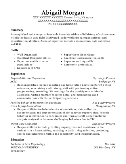 Captivating View Resume