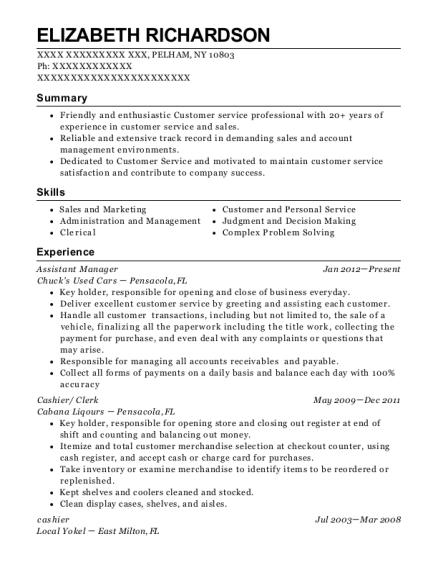Best Customer Service/ Title Clerk Resumes | ResumeHelp