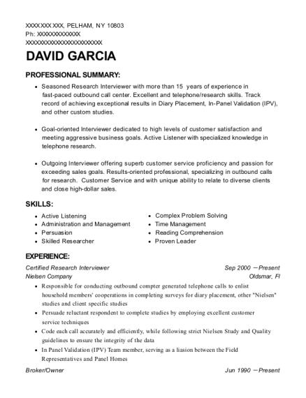 Unique Telephone Interviewer Resume Sample Photo - Example Resume ...