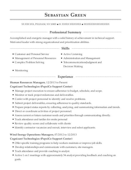 Best Support Services Technician Resumes | ResumeHelp