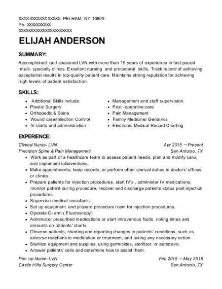 Best Clinic Supervisor Resumes   ResumeHelp