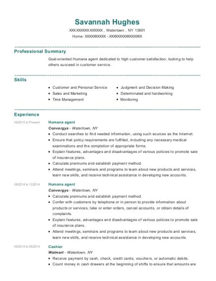 Best Humana Agent Resumes | ResumeHelp