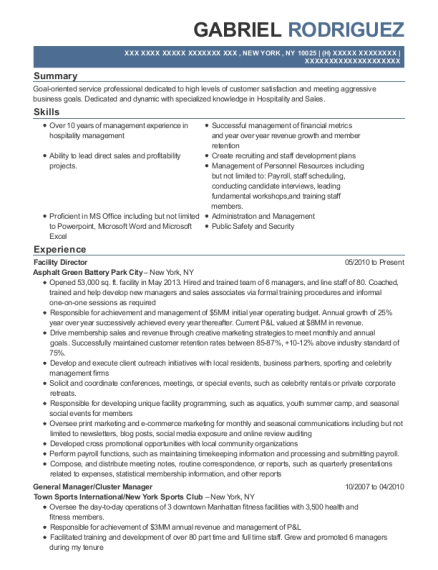 best cluster manager resumes