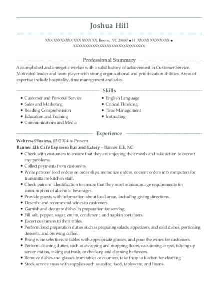 best personal tutor resumes resumehelp