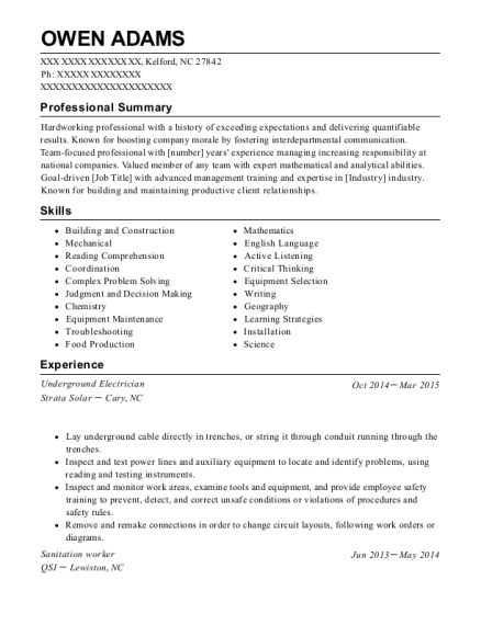 Charming Supervisor , Sanitation Worker. Customize Resume · View Resume