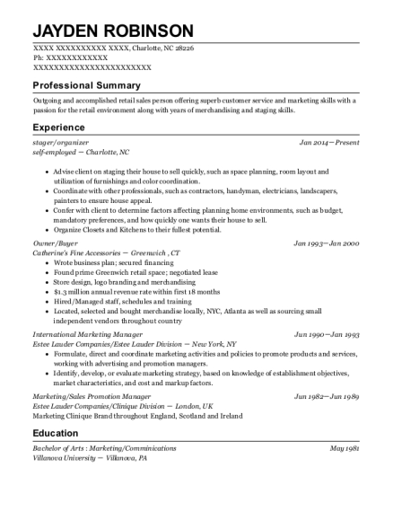 Best International Marketing Manager Resumes | ResumeHelp