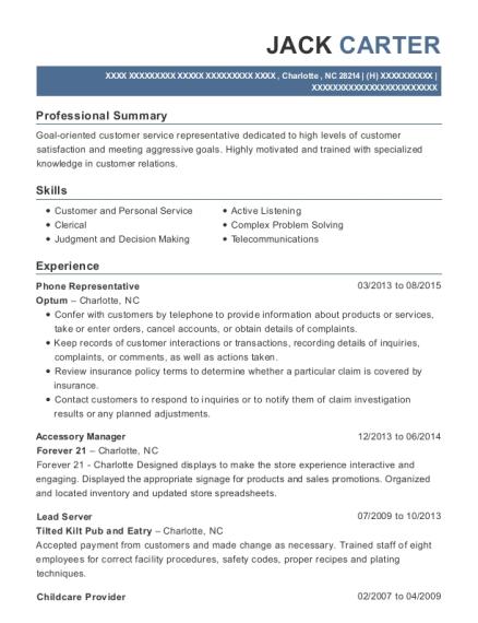 Best Accessory Manager Resumes | ResumeHelp