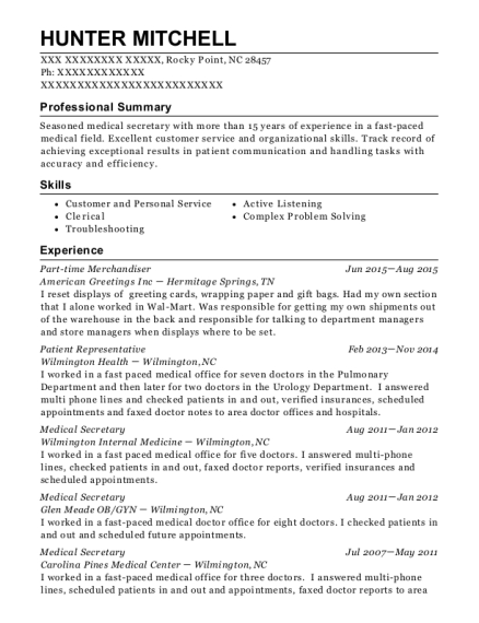 American greetings inc part time merchandiser resume sample rocky hunter mitchell m4hsunfo