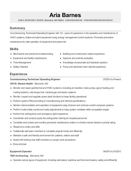Best Commissioning Technician Resumes | ResumeHelp