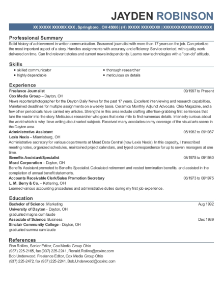 Store Manager Resume Lowes