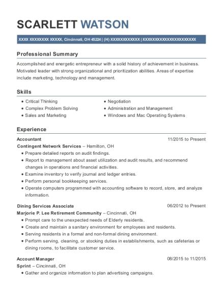 Best Dining Services Associate Resumes | ResumeHelp