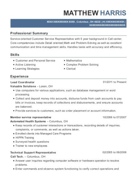 enrollment specialist