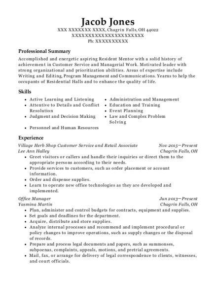 best event planning and secretarial resumes resumehelp