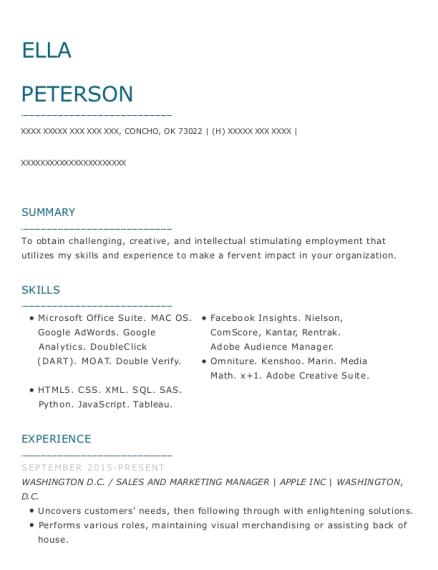 Best Digital Marketing Assistant Resumes   ResumeHelp