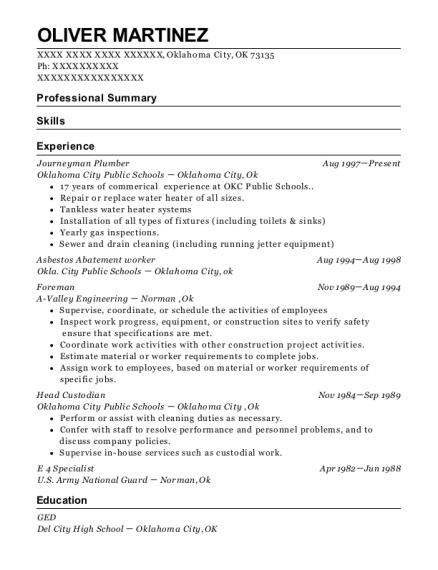 Asbestos Abatement Worker , Foreman. Customize Resume · View Resume