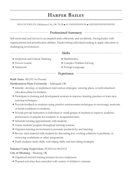 ... Camp Supervisor. Customize Resume · View Resume