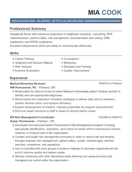 best medicare utilization review nurse resumes resumehelp