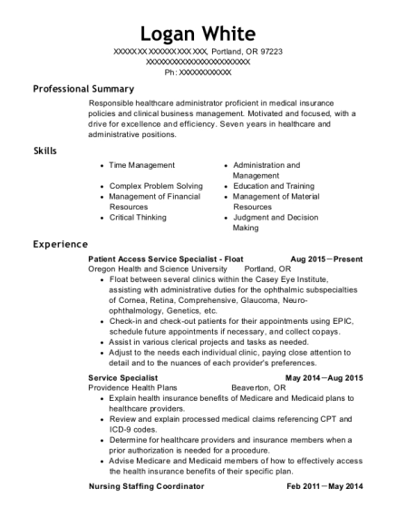 Best Nursing Staffing Coordinator Resumes ResumeHelp
