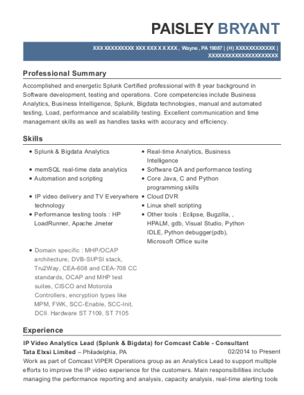 view resume - Senior Quality Assurance Engineer Resume Sample