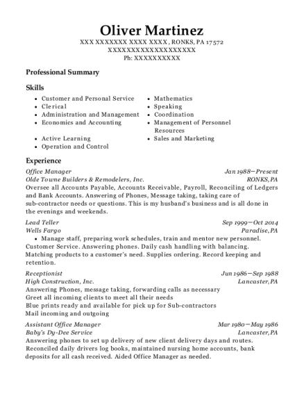 j p  morgan chase bank  na lead teller resume sample