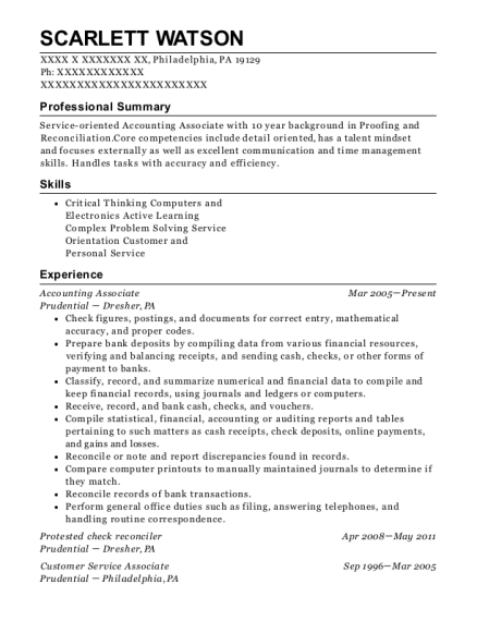 Best Accounting Associate Resumes | ResumeHelp