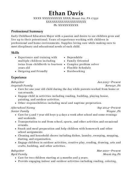 Best Summer Childrens Ministry Intern Resumes | ResumeHelp