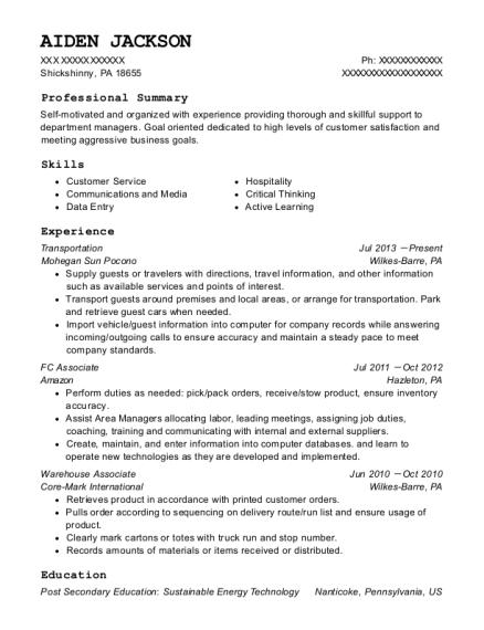 Best Fc Associate Resumes | ResumeHelp