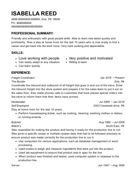 scott u0026 39 s of wisconsin batcher resume sample