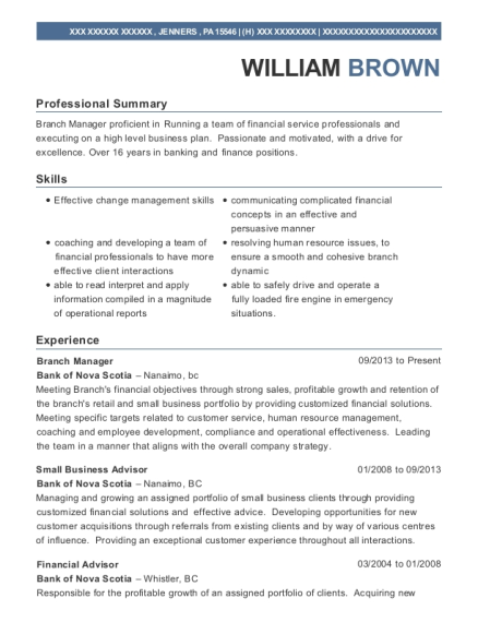 Best Small Business Advisor Resumes | ResumeHelp