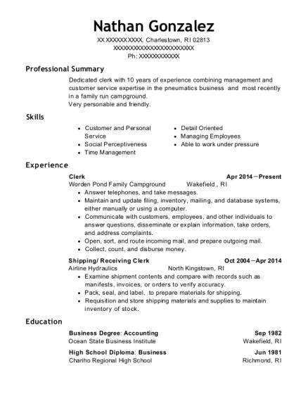 Best Shipping/ Receiving Clerk Resumes | ResumeHelp