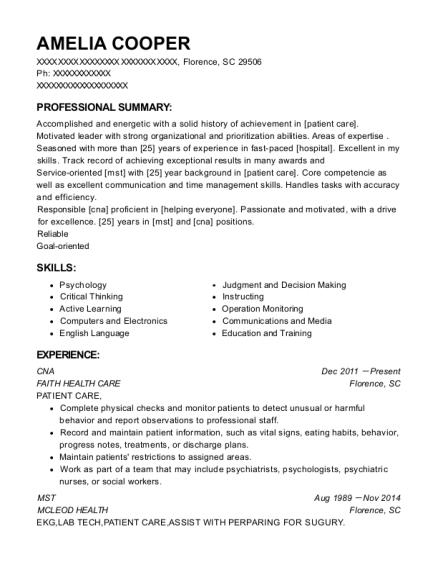 fdny ems emt resume sample