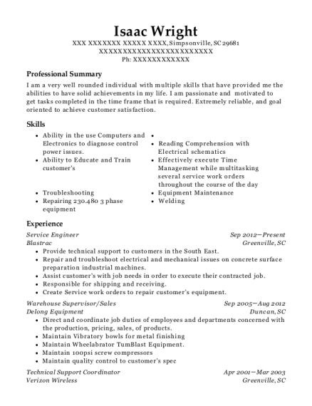 verizon wireless technical support coordinator resume sample ware