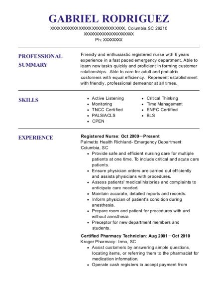Best Student Nurse Technician Resumes Resumehelp