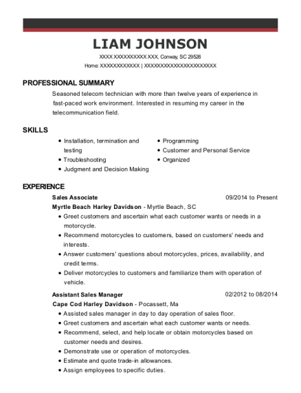 Best Telecommunication Technician Resumes | ResumeHelp