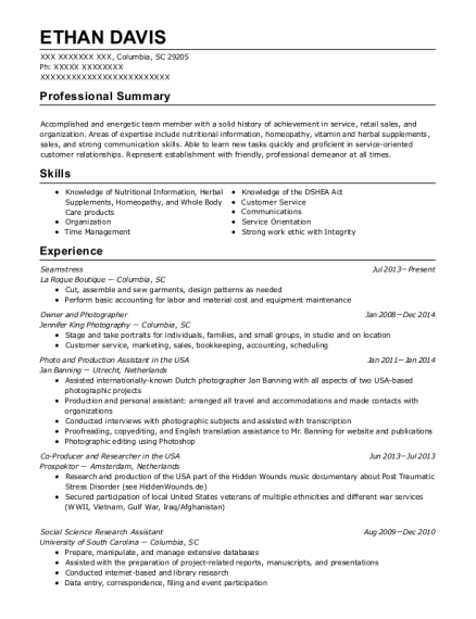 Best Associate Curator Resumes | ResumeHelp
