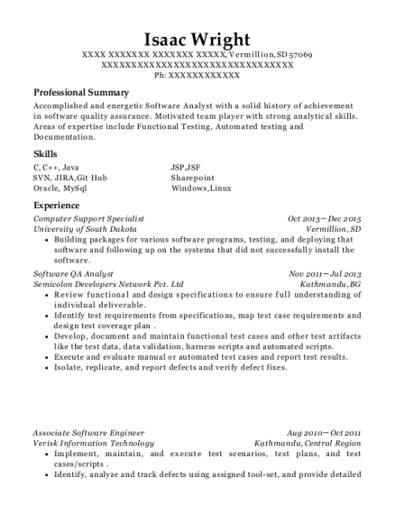 Best Associate Software Engineer Resumes | ResumeHelp