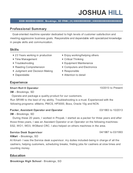 Direct Support Professional Service Desk Supervisor Customize Resume View