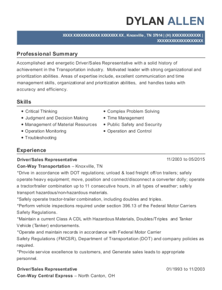 ... Transportation Specialist. Customize Resume · View Resume